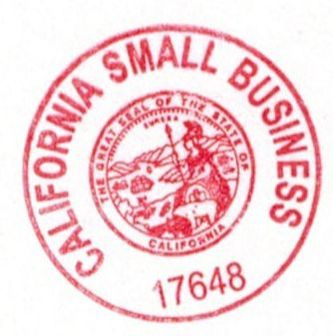 Certified California Small Business